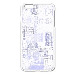 Abstract Art Apple Iphone 6 Plus/6s Plus Enamel White Case by ValentinaDesign