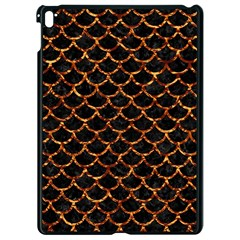 Scales1 Black Marble & Copper Foil Apple Ipad Pro 9 7   Black Seamless Case by trendistuff