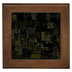 Abstract Art Framed Tiles by ValentinaDesign