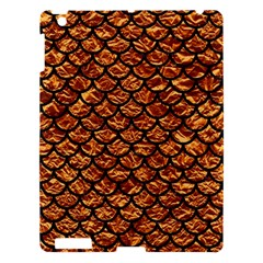 Scales1 Black Marble & Copper Foil (r) Apple Ipad 3/4 Hardshell Case by trendistuff