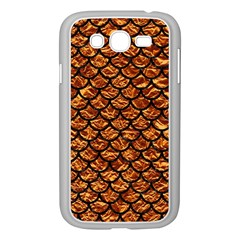 Scales1 Black Marble & Copper Foil (r) Samsung Galaxy Grand Duos I9082 Case (white) by trendistuff