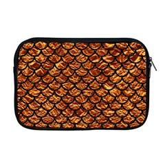 Scales1 Black Marble & Copper Foil (r) Apple Macbook Pro 17  Zipper Case
