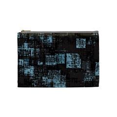 Abstract Art Cosmetic Bag (medium)  by ValentinaDesign