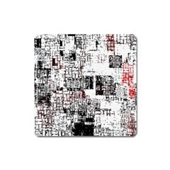 Abstract Art Square Magnet by ValentinaDesign