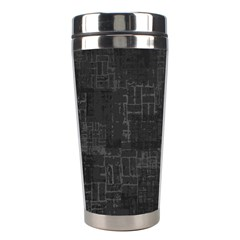 Abstract Art Stainless Steel Travel Tumblers by ValentinaDesign