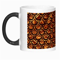 Scales2 Black Marble & Copper Foil (r) Morph Mugs by trendistuff