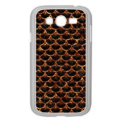 Scales3 Black Marble & Copper Foil Samsung Galaxy Grand Duos I9082 Case (white) by trendistuff