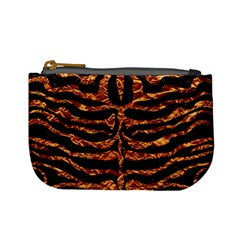 Skin2 Black Marble & Copper Foil Mini Coin Purses by trendistuff