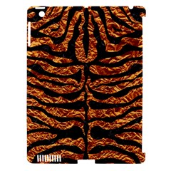 Skin2 Black Marble & Copper Foil (r) Apple Ipad 3/4 Hardshell Case (compatible With Smart Cover) by trendistuff