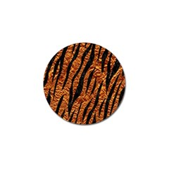 Skin3 Black Marble & Copper Foil (r) Golf Ball Marker (10 Pack) by trendistuff