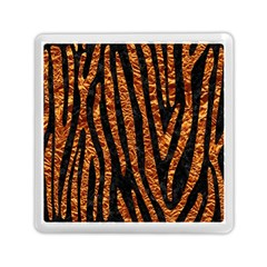 Skin4 Black Marble & Copper Foil (r) Memory Card Reader (square)  by trendistuff