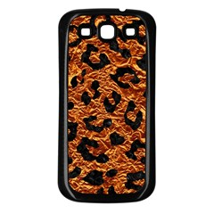 Skin5 Black Marble & Copper Foil Samsung Galaxy S3 Back Case (black) by trendistuff