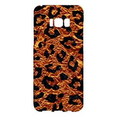 Skin5 Black Marble & Copper Foil Samsung Galaxy S8 Plus Hardshell Case  by trendistuff