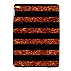 Stripes2 Black Marble & Copper Foil Ipad Air 2 Hardshell Cases by trendistuff