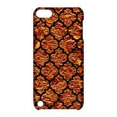 Tile1 Black Marble & Copper Foil (r) Apple Ipod Touch 5 Hardshell Case With Stand by trendistuff