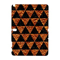 Triangle3 Black Marble & Copper Foil Galaxy Note 1 by trendistuff