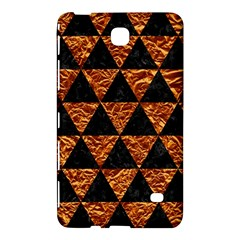 Triangle3 Black Marble & Copper Foil Samsung Galaxy Tab 4 (8 ) Hardshell Case