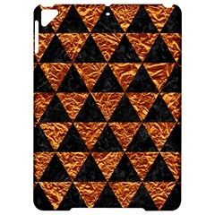 Triangle3 Black Marble & Copper Foil Apple Ipad Pro 9 7   Hardshell Case