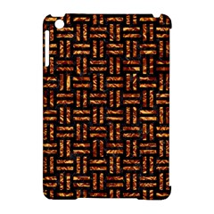 Woven1 Black Marble & Copper Foil Apple Ipad Mini Hardshell Case (compatible With Smart Cover) by trendistuff
