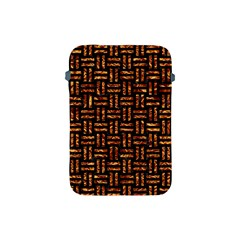Woven1 Black Marble & Copper Foil Apple Ipad Mini Protective Soft Cases by trendistuff
