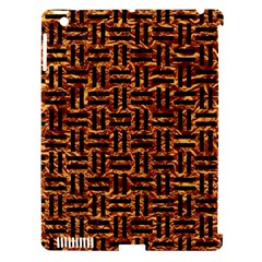 Woven1 Black Marble & Copper Foil (r) Apple Ipad 3/4 Hardshell Case (compatible With Smart Cover) by trendistuff