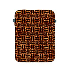 Woven1 Black Marble & Copper Foil (r) Apple Ipad 2/3/4 Protective Soft Cases by trendistuff