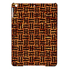 Woven1 Black Marble & Copper Foil (r) Ipad Air Hardshell Cases by trendistuff
