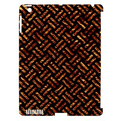 Woven2 Black Marble & Copper Foil Apple Ipad 3/4 Hardshell Case (compatible With Smart Cover) by trendistuff