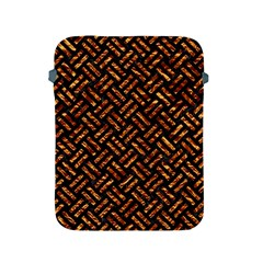 Woven2 Black Marble & Copper Foil Apple Ipad 2/3/4 Protective Soft Cases by trendistuff