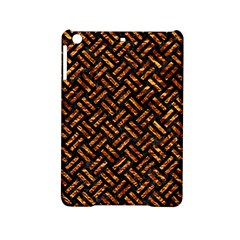 Woven2 Black Marble & Copper Foil Ipad Mini 2 Hardshell Cases by trendistuff