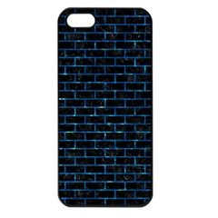 Brick1 Black Marble & Deep Blue Water Apple Iphone 5 Seamless Case (black) by trendistuff