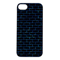 Brick1 Black Marble & Deep Blue Water Apple Iphone 5s/ Se Hardshell Case by trendistuff