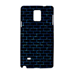 Brick1 Black Marble & Deep Blue Water Samsung Galaxy Note 4 Hardshell Case by trendistuff