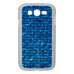 Brick1 Black Marble & Deep Blue Water (r) Samsung Galaxy Grand Duos I9082 Case (white) by trendistuff