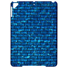 Brick1 Black Marble & Deep Blue Water (r) Apple Ipad Pro 9 7   Hardshell Case by trendistuff