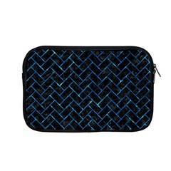 Brick2 Black Marble & Deep Blue Water Apple Macbook Pro 13  Zipper Case by trendistuff