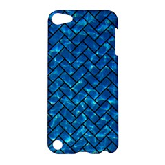 Brick2 Black Marble & Deep Blue Water (r) Apple Ipod Touch 5 Hardshell Case by trendistuff
