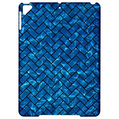 Brick2 Black Marble & Deep Blue Water (r) Apple Ipad Pro 9 7   Hardshell Case by trendistuff
