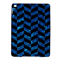 Chevron1 Black Marble & Deep Blue Water Ipad Air 2 Hardshell Cases by trendistuff