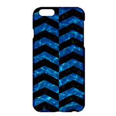 Chevron2 Black Marble & Deep Blue Water Apple Iphone 6 Plus/6s Plus Hardshell Case by trendistuff