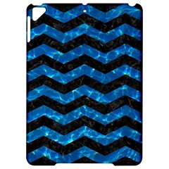 Chevron3 Black Marble & Deep Blue Water Apple Ipad Pro 9 7   Hardshell Case by trendistuff