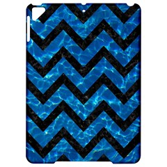 Chevron9 Black Marble & Deep Blue Water (r) Apple Ipad Pro 9 7   Hardshell Case by trendistuff