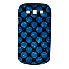 Circles2 Black Marble & Deep Blue Water Samsung Galaxy S Iii Classic Hardshell Case (pc+silicone) by trendistuff