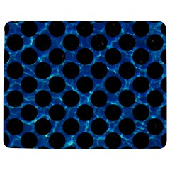Circles2 Black Marble & Deep Blue Water (r) Jigsaw Puzzle Photo Stand (rectangular) by trendistuff