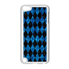 Diamond1 Black Marble & Deep Blue Water Apple Ipod Touch 5 Case (white) by trendistuff