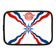 Assyrian Flag  Netbook Case (medium)  by abbeyz71