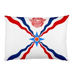 Assyrian Flag  Pillow Case (two Sides) by abbeyz71