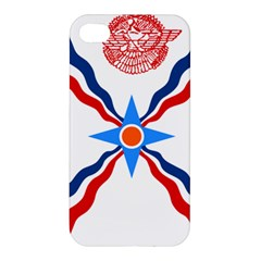 Assyrian Flag  Apple Iphone 4/4s Premium Hardshell Case by abbeyz71