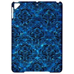 Damask1 Black Marble & Deep Blue Water (r) Apple Ipad Pro 9 7   Hardshell Case by trendistuff