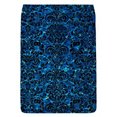 Damask2 Black Marble & Deep Blue Water (r) Flap Covers (s)  by trendistuff